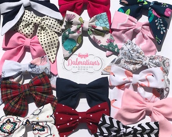 Choose Your Color Sailor Bow!  Many colors and patterns available.
