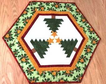 Holiday Table or Candle Mat