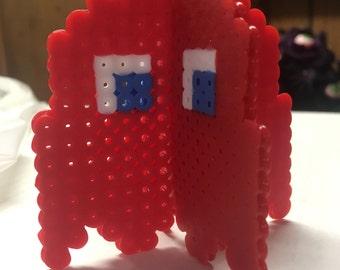 Custom Color 3D Pacman Ghost Perler