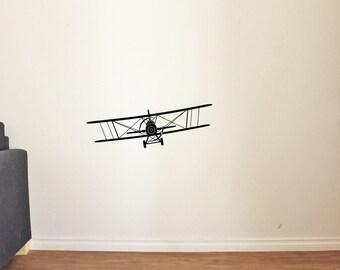 Airplane Wall Decal for Nursery Boy Room Decor Vinyl Stickers MK0018