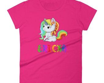 Ericka Unicorn Ladies T-Shirt