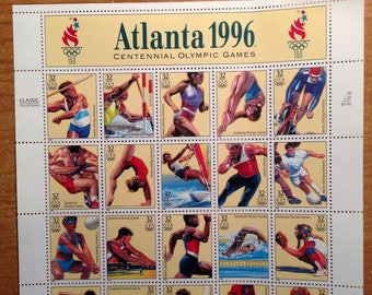 Commemorative Stamps: 1996 Olympics
