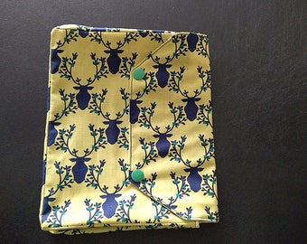 Navy Stags Personal Size Planner Cover