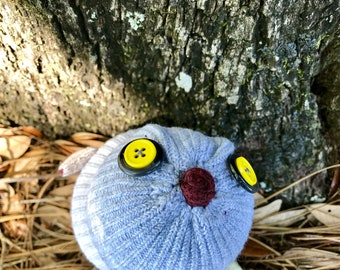 Buster sock owl -Ready to ship!