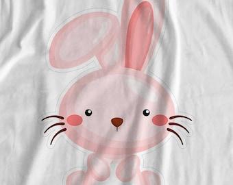 Pets - Bunny - Iron On Transfer