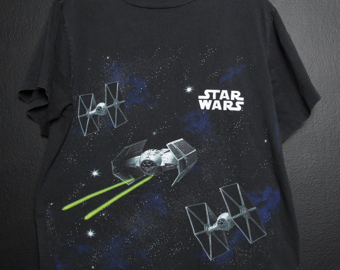 Star Wars Death Star 1990s vintage Tshirt