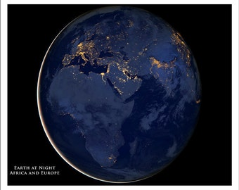 Night world map etsy world map map of the world globe africa map europe map satellite map night sky gumiabroncs Image collections