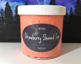 Strawberry Shaved Ice slime