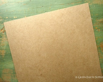 "50 11""x14"" chipboard sheets (279x355 mm) 30 pt kraft brown chipboard, recycled, 30pt (.030""), chipboard sheets for protecting 11x14 prints"