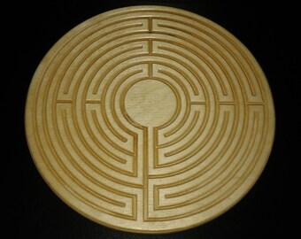 Eco Wood Finger Labyrinth Round Large