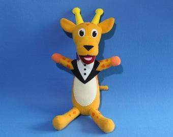 Giraffe Fleece Toy