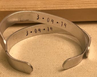 Personalized Wire Stamped Bracelet
