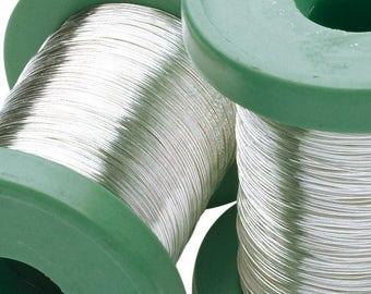 999 Fine Silver Dead Soft wire for Jewelry making wire wrap 24 GA /0.5mm, 26 GA /0.4mm