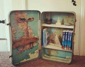 Vintage traveller storage unit CUSTOM MADE