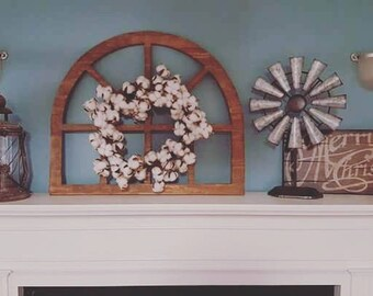 Handmade, Wooden, small Vintage Inspired Window Arch