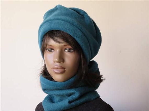 chapeau beret femme hiver vintage en polaire bleu choisissez. Black Bedroom Furniture Sets. Home Design Ideas