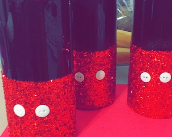 mickey mouse flower vases