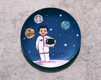 Percy Astronaut Plate