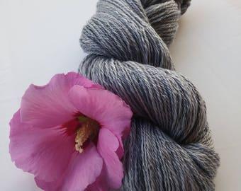 Hand-woven Merino silk Linen yarn 89 g