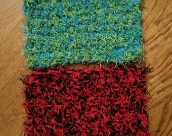 Crochet scrubbies set of 2