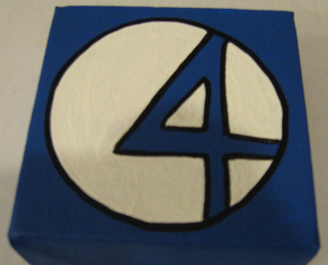 Marvel The Fantastic Four Canvas Picture 4x4