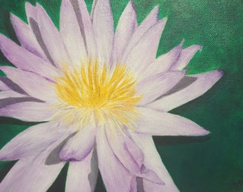 Waterlily - 8x10 painting on canvas