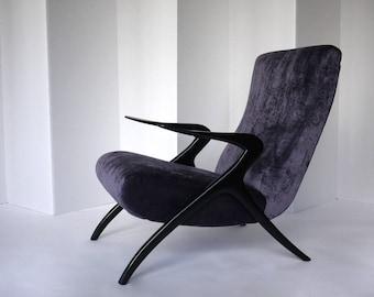 Mid-Century Modern Italian Armchair