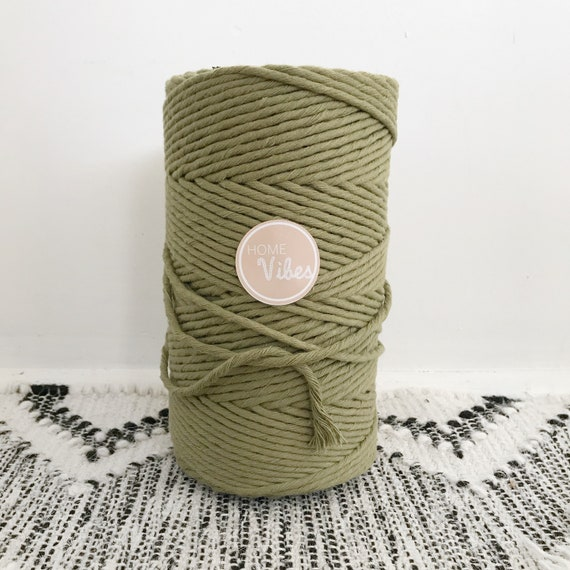 KHAKI Single Twist Cord 1kg