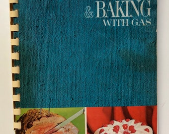 1967 Robertshaw Better Cooking & Baking With Gas Cookbook