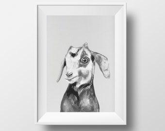 Baby Goat Original Artwork