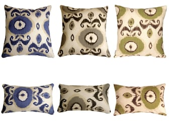 Bold Ikat Decorative Pillow