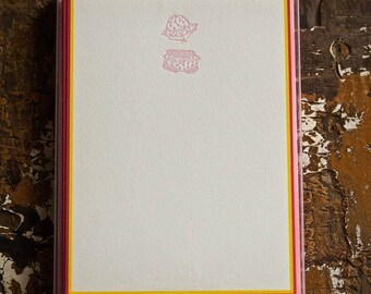 Baby Bloomers Note Cards