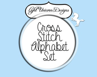 Alphabet Set Number 2 Cross Stitch Pattern