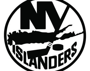 More Colors New York Islanders Vinyl Sticker