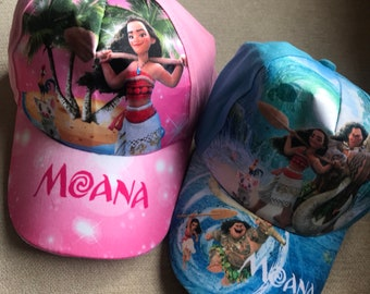 Moana  or Maui Inspired Baseball Hat
