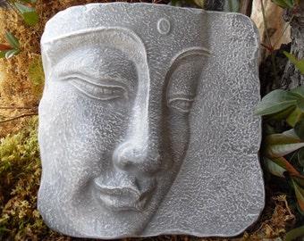 Buddha, Buddha Plaque, Buddha Wall Décor, Zen Buddha, Yoga, Spiritual Décor, Zen Garden Décor, Outdoor Garden Gift, Healing Energy