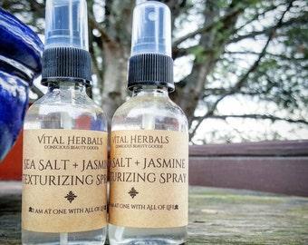 sea salt hair spray - sea salt spray - hair spray - texturizing spray - wavy hair spray - mermaid hair spray - beach hair