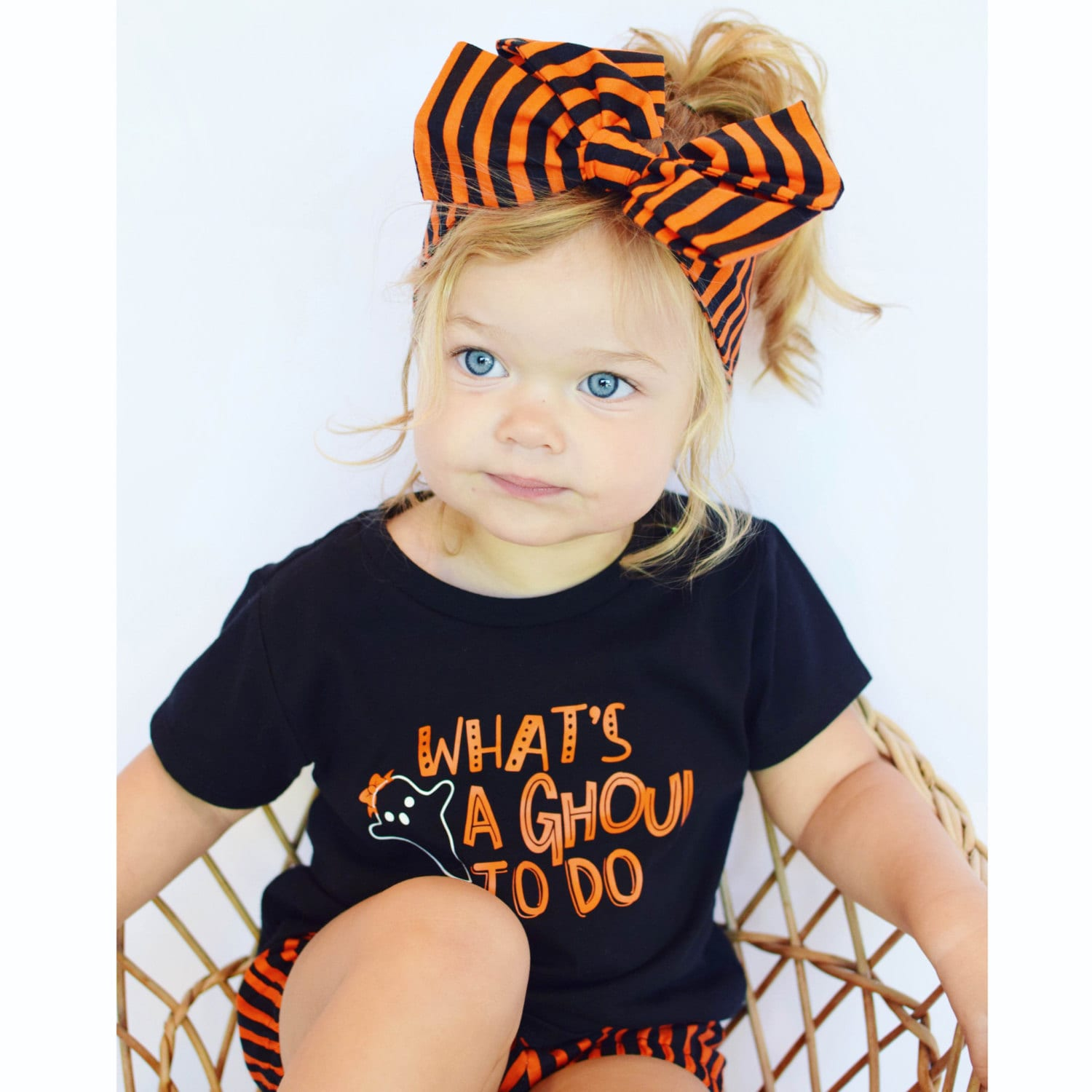 Whats a ghoul to do girl Halloween shirt toddler girl