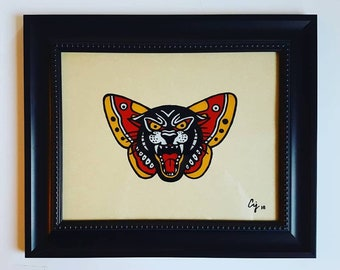 Traditional Panther Butterfly