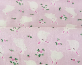 Double Gauze Rabbit Pink By The Yard