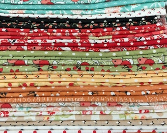 Fig Tree & Co Chestnut Street Fat Quarter Bundle - 40 prints