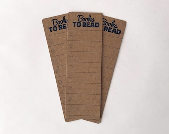 Kraft Books to Read Bookmarks. Book marker