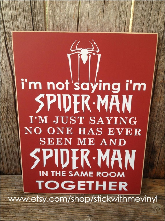 spiderman im not gay