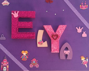 Gift idea for children: personalize their room