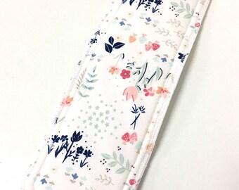 Natural Girl re-usable modern cloth sanitary menstrual pads. x1 REGULAR pad.