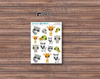 In the Wild Deco Stickers | ECLP | Happy Planner | Recollections Planner