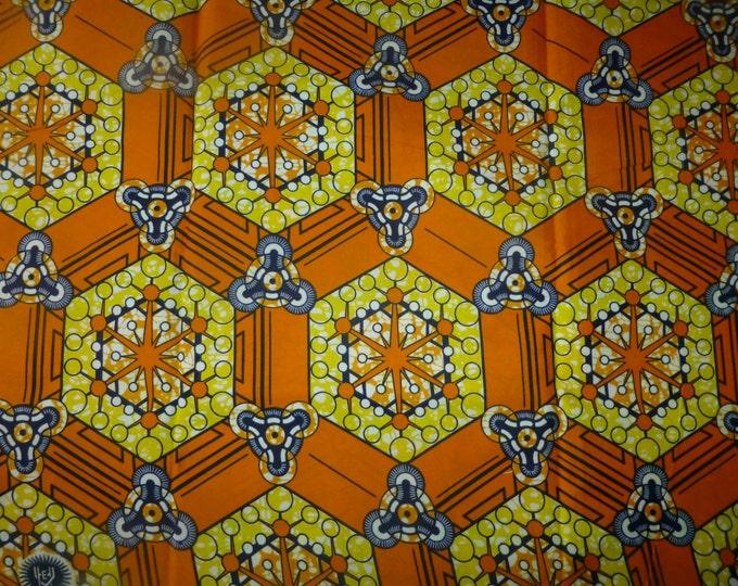 African Fabrics Block Wax Print Fabrics For Sewing,Pagne For Dress Making Kitenge/Ankara Sold by Yard 162335733103