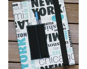 MTO Composition notebook cover - Cities