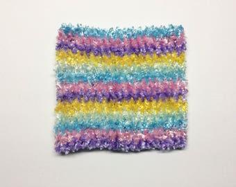 "8"" crochet tutu top. Crochet elastic top. Baby Tutu top"
