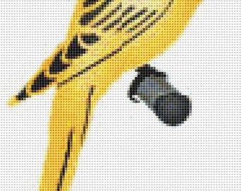 Cross Stitch Pattern, Cross Stitch Patterns, Cross Stitch, Counted Cross Stitch, Cross Stitch Chart, Xstitchpatterns, Cross Stitch Bird